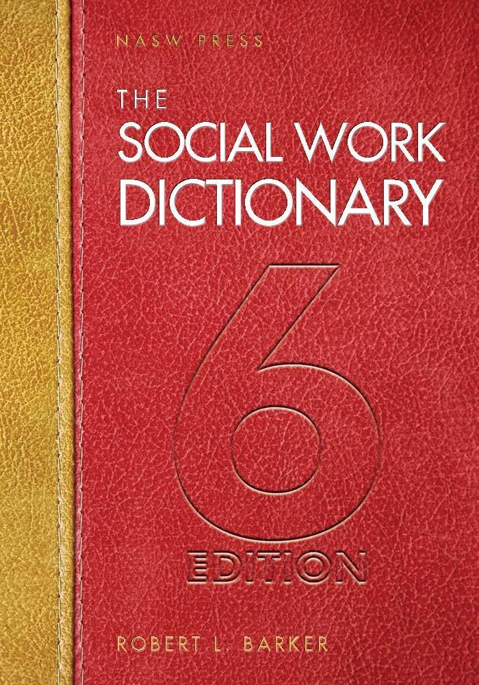Pdf social work dictionary